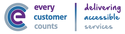 Every Customer Counts - delivering accessible services